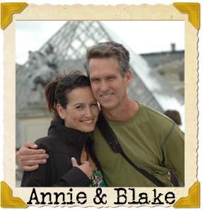 Me (Annie) and my husband in Paris on mini sabbatical