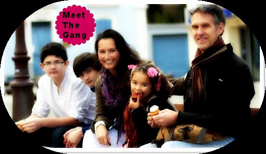 family photo of us in Le Pradet France 2012