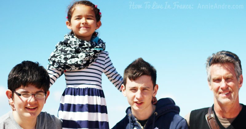 How we ended up living in France with our three kids