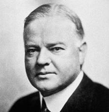 -Herbert Hoover-(American President, 1874-1964)