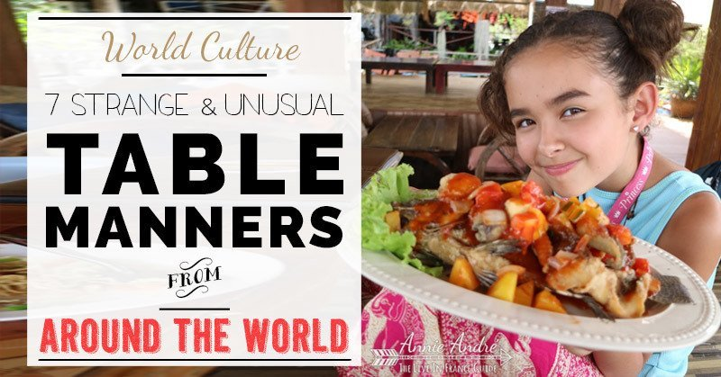 7 Strange Table Manners Around The World:Burping, Farting
