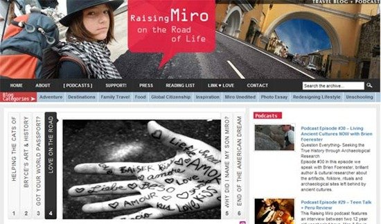 Raising Miro Mon who slow travelled with her son for 8 years