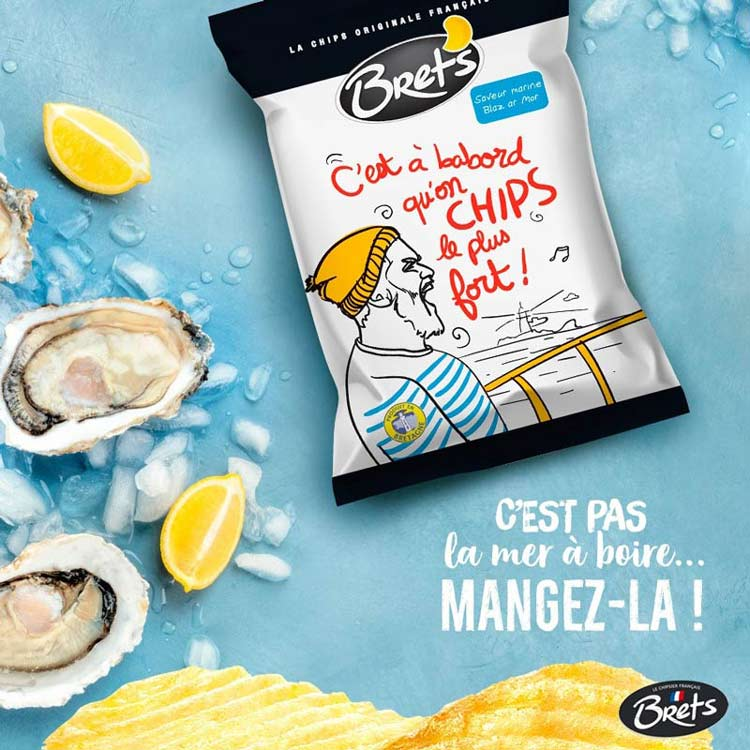 Brets Marine chips taste like oysters