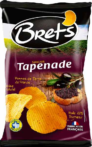 Tapenade chips in France