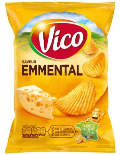 Emmental chips