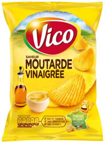 mustard and vinegar chips