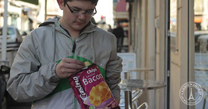 popular chips in France: Unique flavours