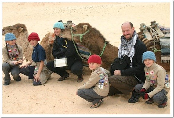 Millers travel the world with kids