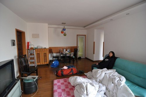 Anne Isom Family Flat in Nainjing China