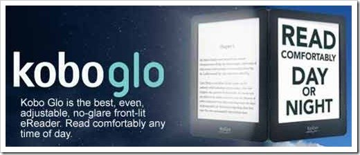 Give a an ereader / Koboglo: gift idea for travelers