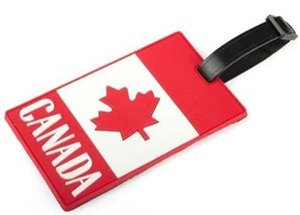 Give a fun themed luggage-tag: practical gift idea for travelers