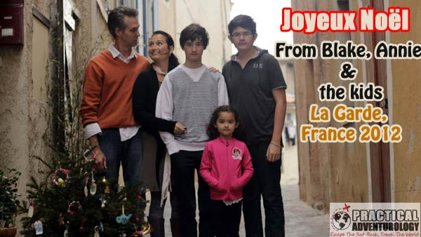 merry christmas ( Joyeux Noël) from La Garde France