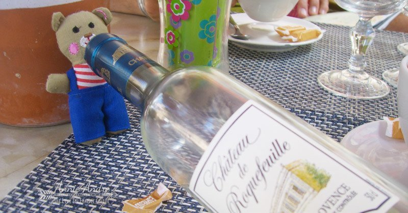 Rose wine is extremely inexpensive in the South of France