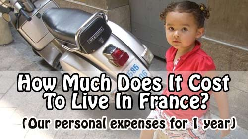 Find out how much it cost us to live in France for a year with 3 kids.