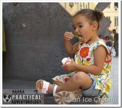 Eat some italian ice cream gelato-nice-france