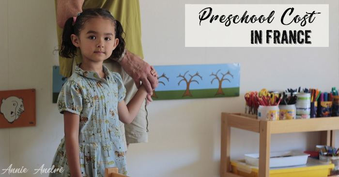 Preschool cost in France