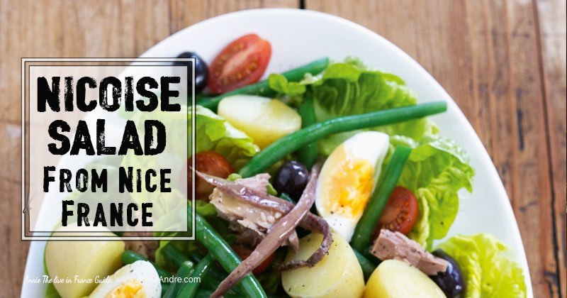 salad Nicoise from Nice France