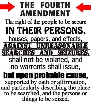 4th Amendment: does TSA seurity violate them?: