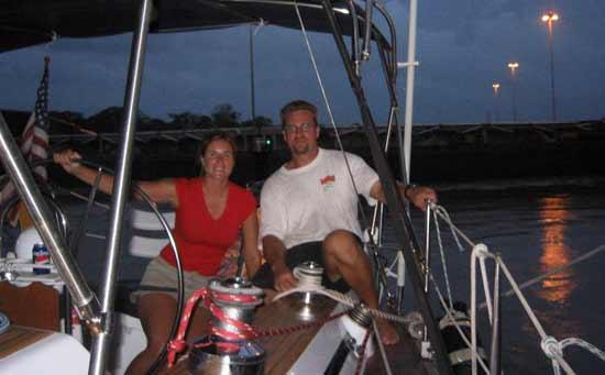 How to travel indefinitely: sailing panama canal
