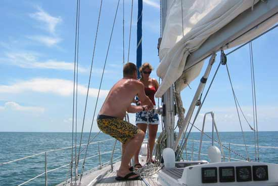 How to travel indefinitely: sailing