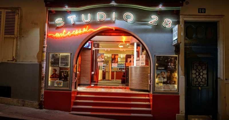 Studio 28 theatre in Paris for Cinema aficionados