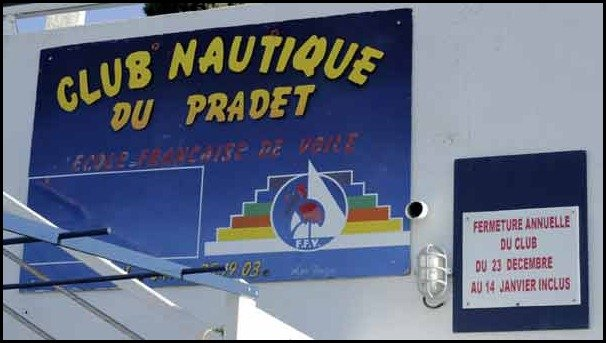 A day at the beach in the south of france: Le Pradet Club Nautique
