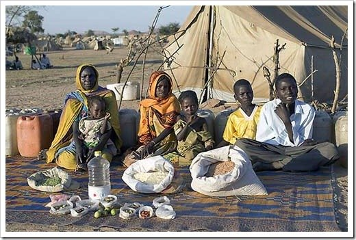 What People Eat In One Week Around The World: Africa