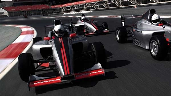 Unusual things to do in Dubai: Drive and F1 Racecar
