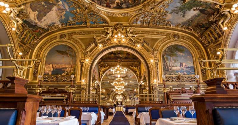 Le Train Bleu Restaurant at Paris Gare de Lyon (Train station)