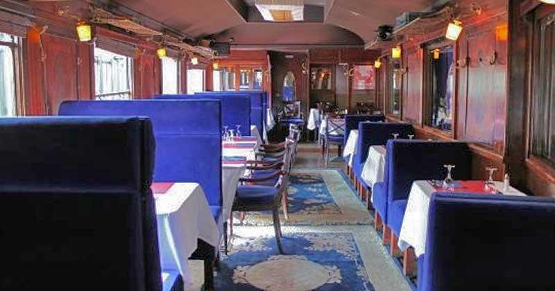 Le wagon bleu restaurant Paris