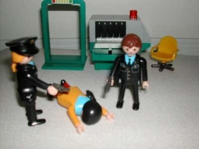 playmobil security checkpoint playset