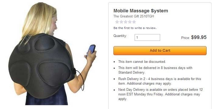 mobile-massage: stupid skymall products you can buy