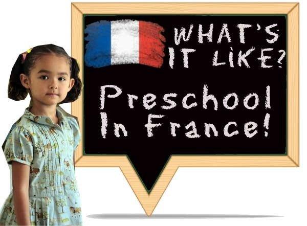 Fwhats preschool in france like?