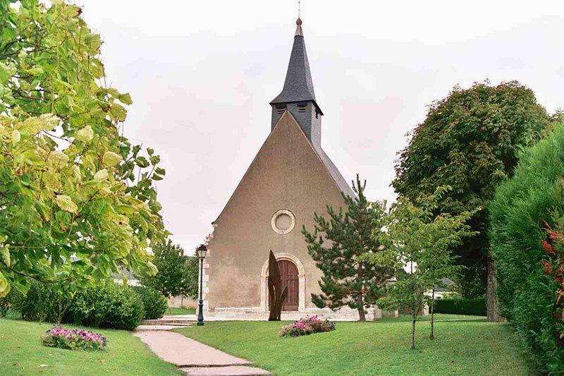 The church of Saint Valentin