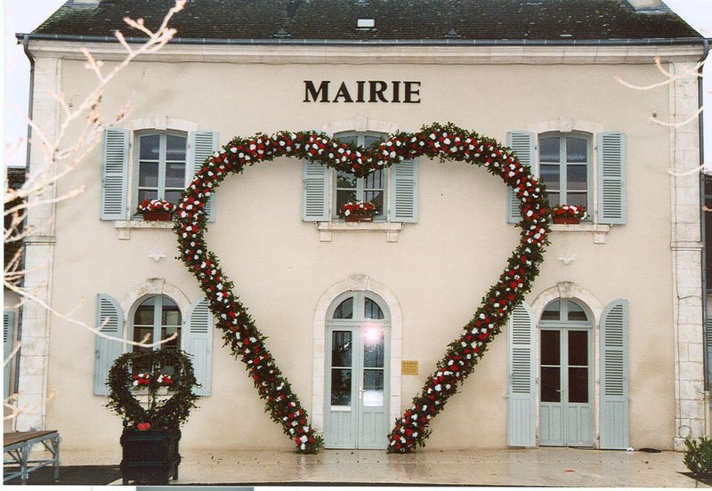 The Mairie, Town hall of Saint-Valentin