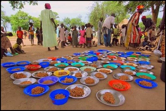 school lunces around the world/sudan: childrens school lunch