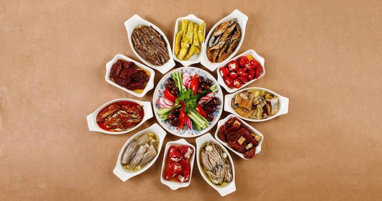 Cypriot Meze Meal