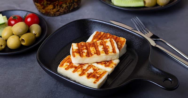 Cyprus is home of Haloumi cheese