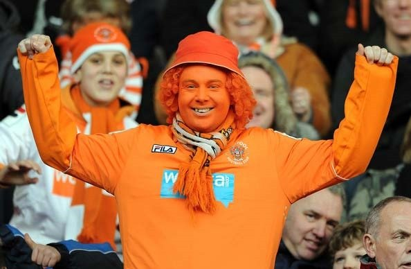 blackpool football fan