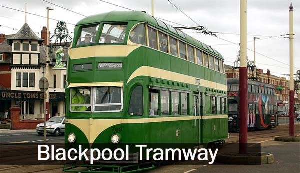 blackpool tram: oldest tram system in England