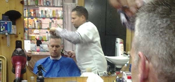 getting a haircut in Barcelona can be challenging if you don't speak the language but a lot of fun