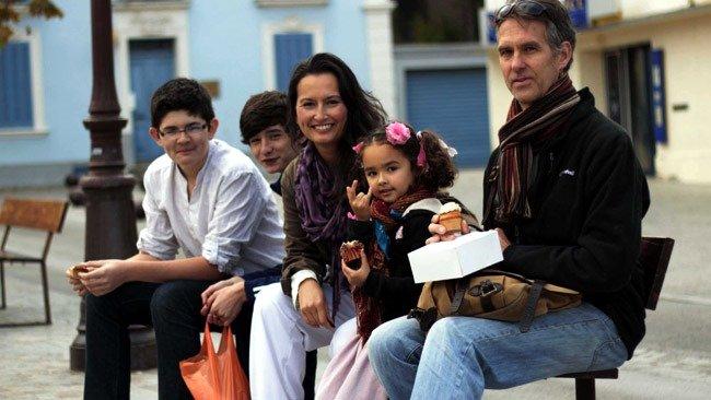 Our Family in Le Pradet France in 2013