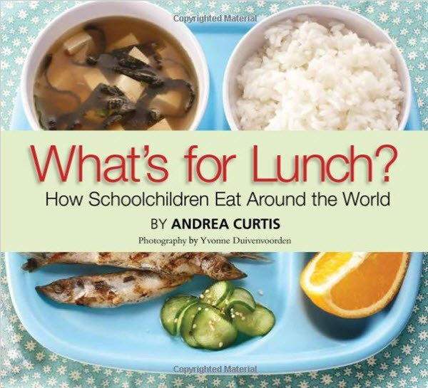 Whats for lunch around the world book