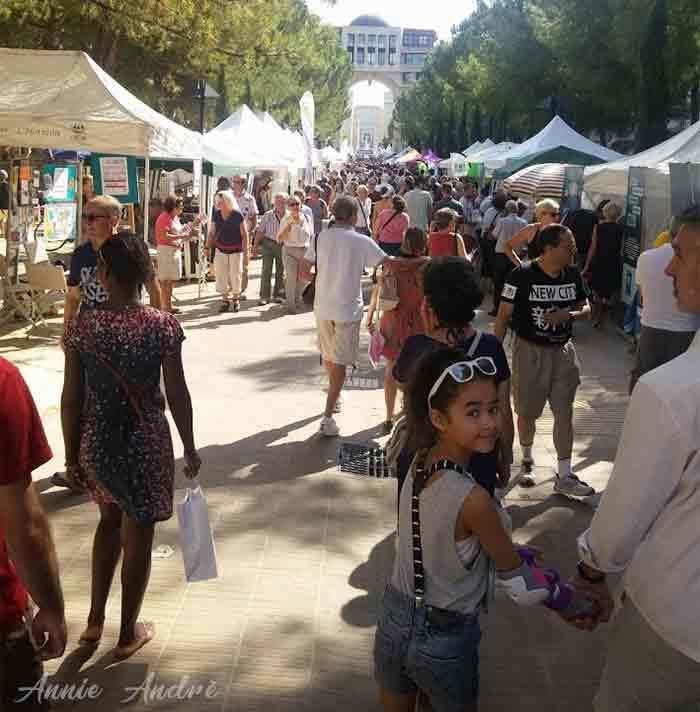 Annual association event held at the Antigone in Montpellier