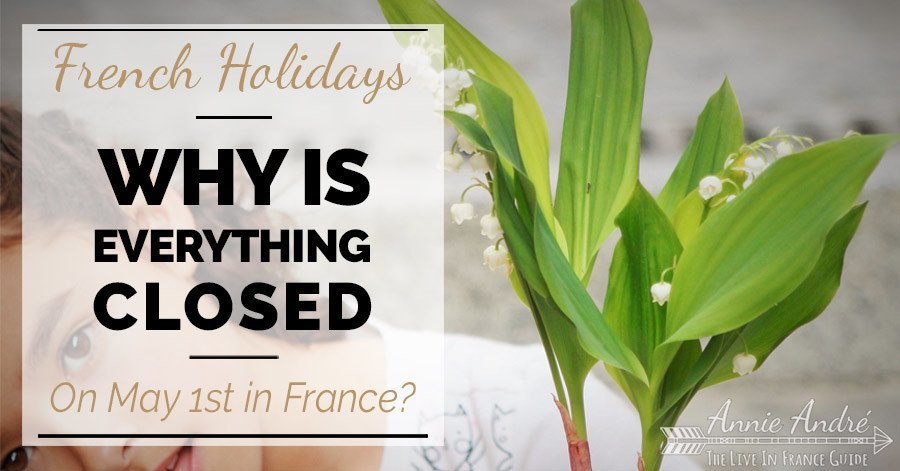 The tradition of giving the LIly flower Muguet in France on May Day