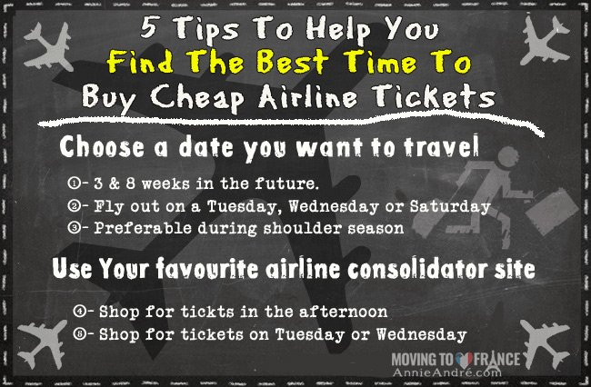 What Is The Best Time To Buy Cheap Plane Tickets? 5 Simple ...