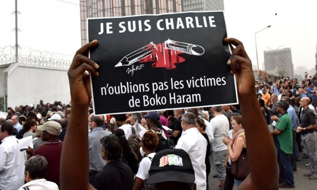 Je suis charlie Nigeria Boko Haram