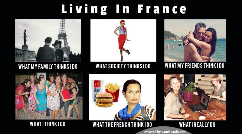Meme Living in France: What I really do
