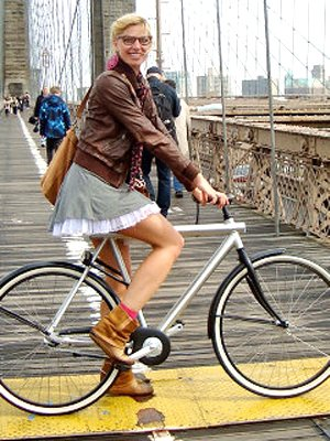 women not allowed to wear pants in France unless riding a bike
