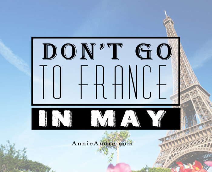 how to say and you may go french